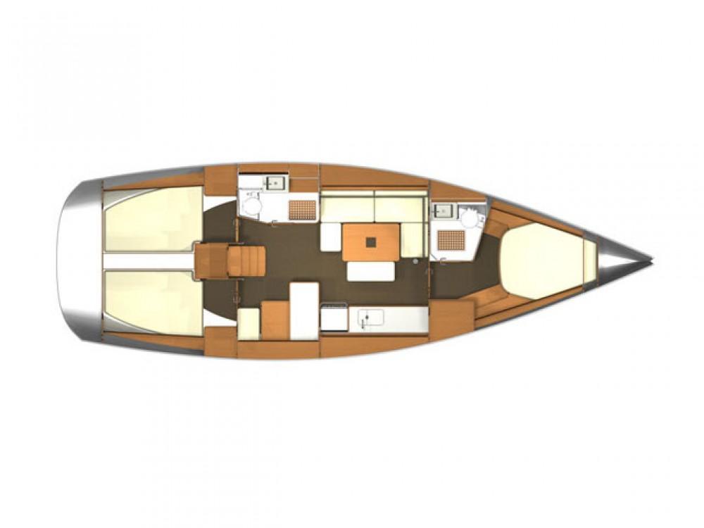 Verhuur Zeilboot in Rogoznica - Dufour Dufour 405 Grand Large