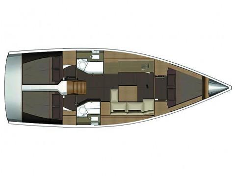 Bootverhuur Athene goedkoop Dufour 382 GL