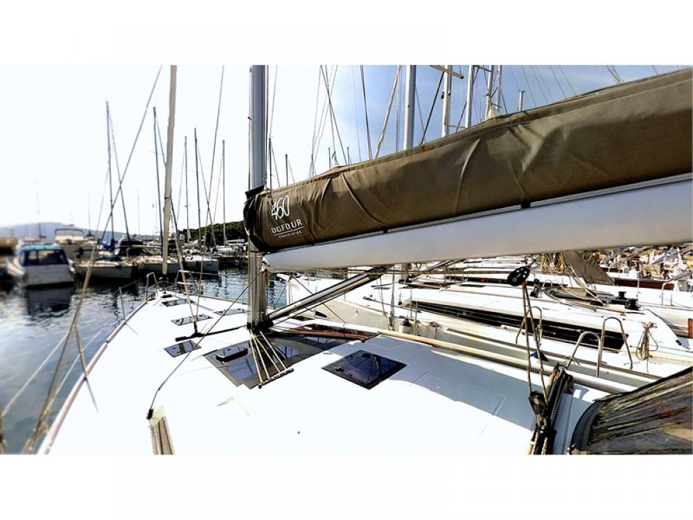 Verhuur Zeilboot in Rogoznica - Dufour Dufour 460 Grand Large