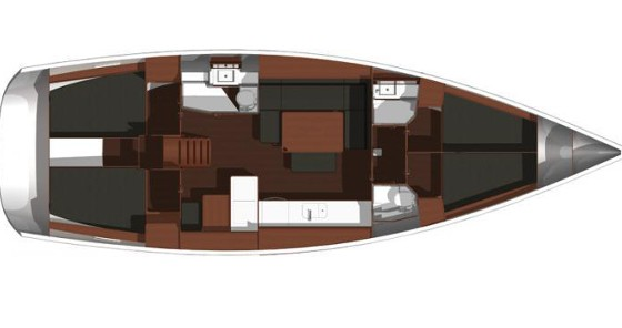 Jachthuur in  - Dufour Dufour 445 Grand Large via SamBoat