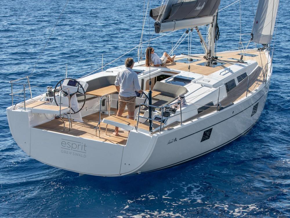 Verhuur Zeilboot in Marina de Alimos - Hanse Hanse 508