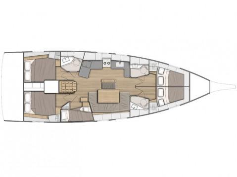Verhuur Zeilboot in Álimos - Bénéteau Oceanis 46.1