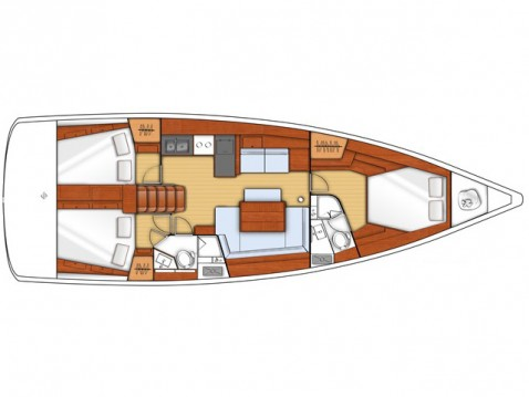 Verhuur Zeilboot in Athene - Bénéteau Oceanis 45 (3 cbs)