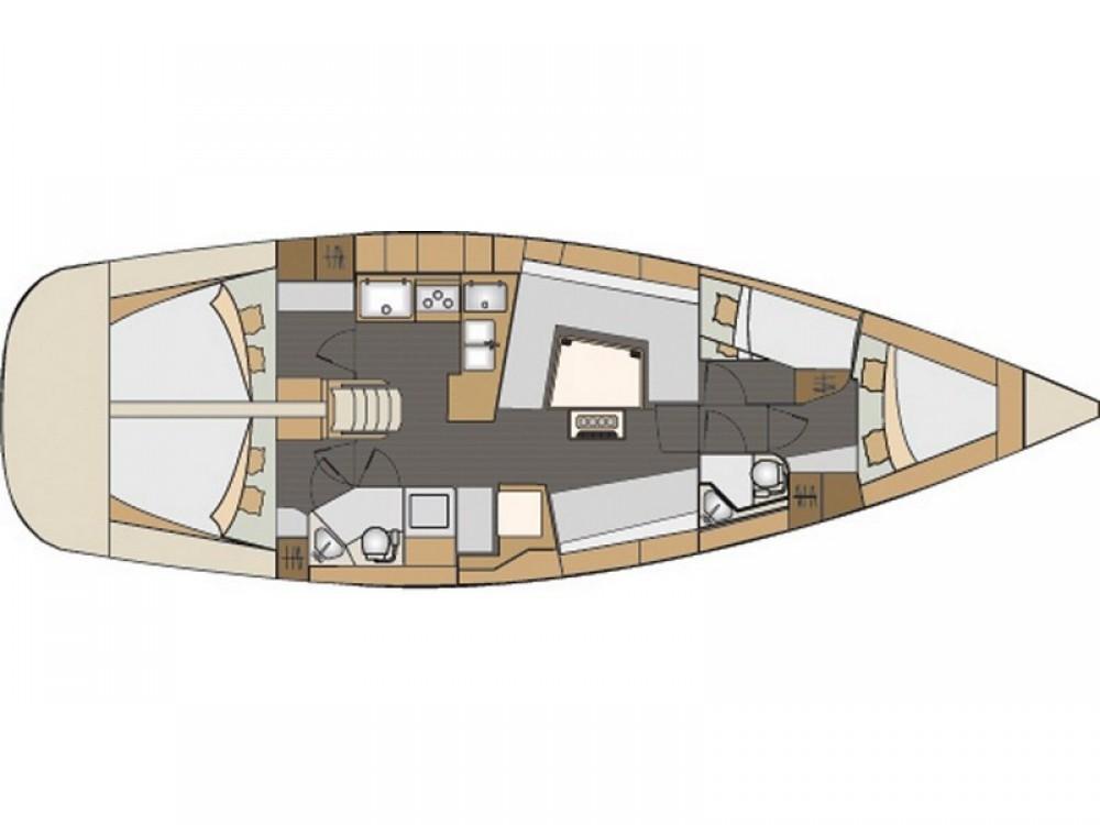 Verhuur Zeilboot in ACI Marina Split - Elan Elan 45 Impression