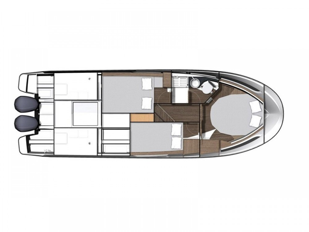 Verhuur Motorboot in  - Jeanneau Jeanneau Merry Fisher 1095