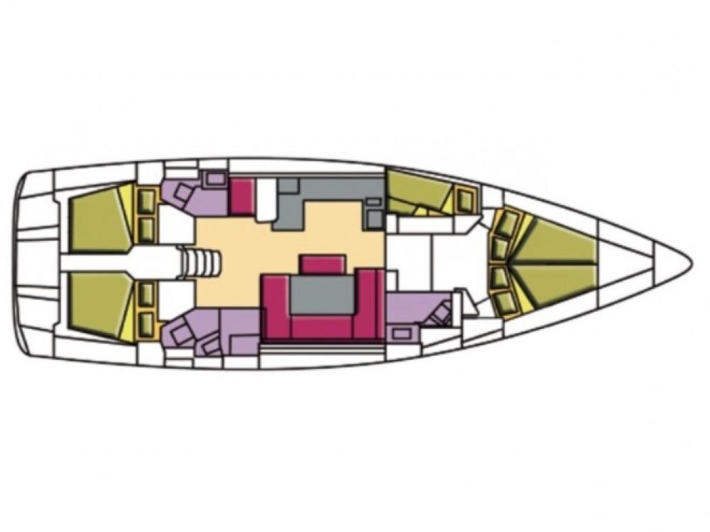 Verhuur Zeilboot in Olbia - Bavaria Bavaria Cruiser 51