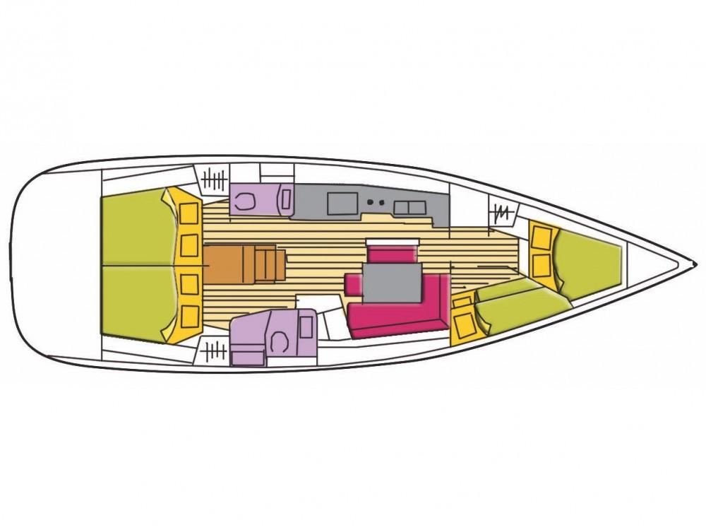 Verhuur Zeilboot in Castiglioncello - Bénéteau Oceanis 46