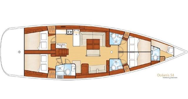 Jachthuur in Álimos - Bénéteau Oceanis 54 via SamBoat