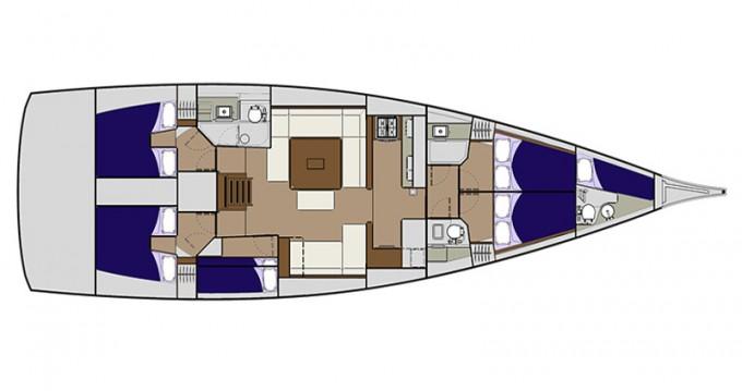 Huur Zeilboot met of zonder schipper Dufour in Zadar