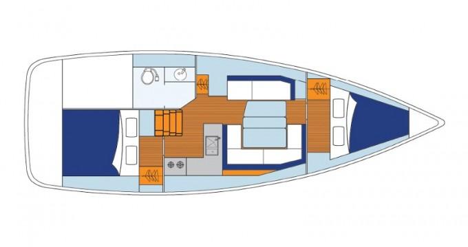 Bootverhuur Jeanneau Sunsail 34 in Lefkada (Island) via SamBoat