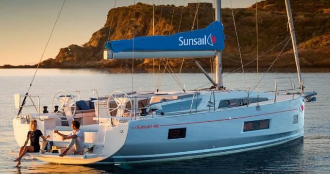 Verhuur Zeilboot in Oyster Pond - Bénéteau Sunsail 46 Mon