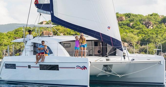 Huur Catamaran met of zonder schipper Leopard in Rodney Bay