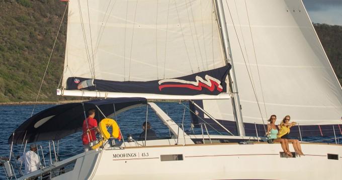 Verhuur Zeilboot in Rodney Bay - Bénéteau Moorings 453