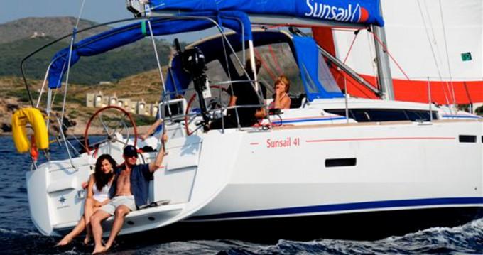 Bootverhuur Marina goedkoop Sunsail 41