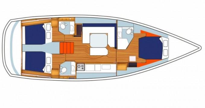 Verhuur Zeilboot in Marina - Jeanneau Sunsail 47