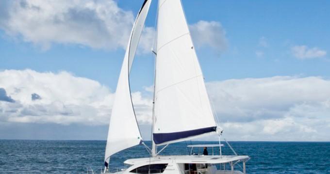 Verhuur Catamaran in Road Town - Leopard Sunsail 484