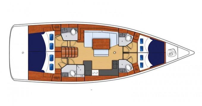 Verhuur Zeilboot in Road Town - Bénéteau Moorings 48.4
