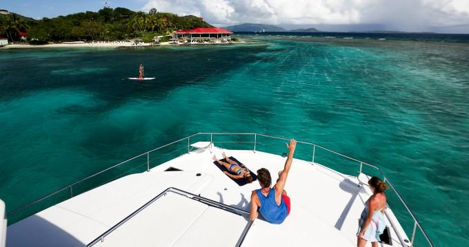 Huur Catamaran met of zonder schipper Leopard in Eden Island