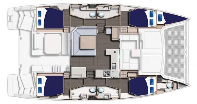 Verhuur Catamaran in Road Town - Leopard Moorings 4500