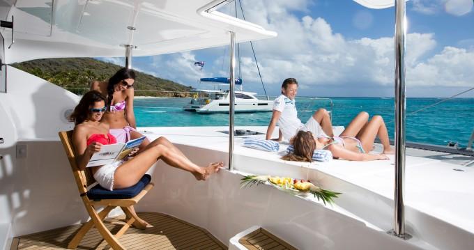 Verhuur Catamaran in Road Town - Leopard Moorings 5800