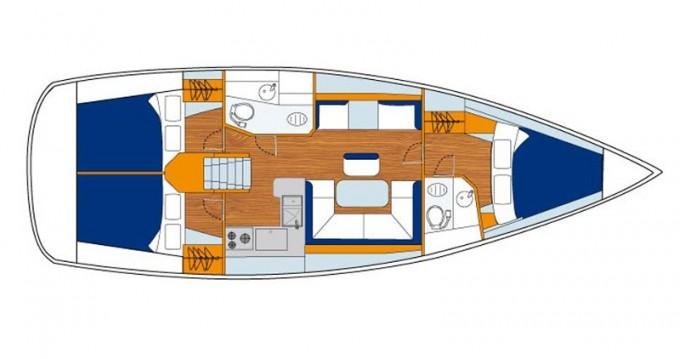 Bootverhuur Jeanneau Sunsail 41 in Marina via SamBoat