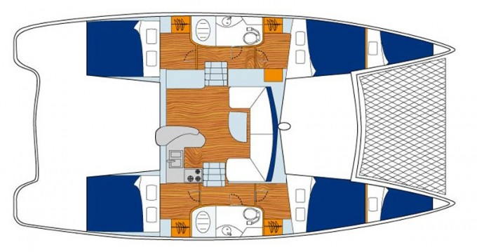 Leopard Sunsail 404 te huur van particulier of professional in Phuket