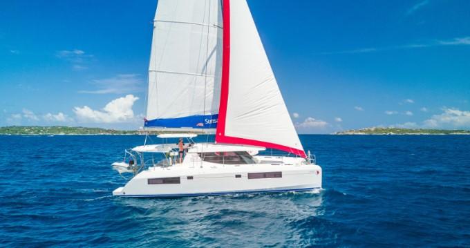 Verhuur Catamaran in Gouviá - Leopard Sunsail 454-10