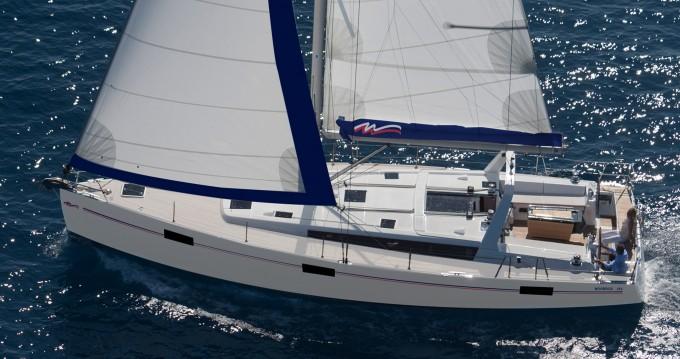 Verhuur Zeilboot in Gouviá - Bénéteau Moorings 48.4