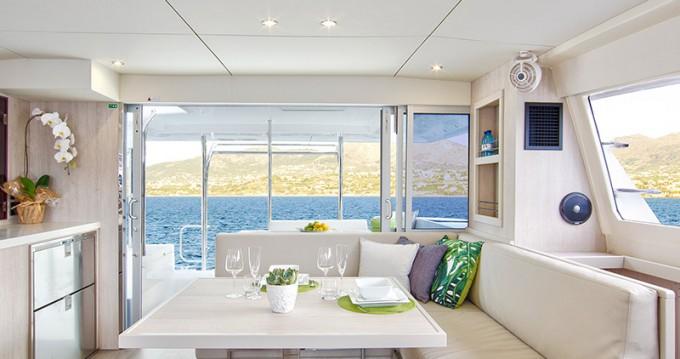 Huur Catamaran met of zonder schipper Leopard in Marigot
