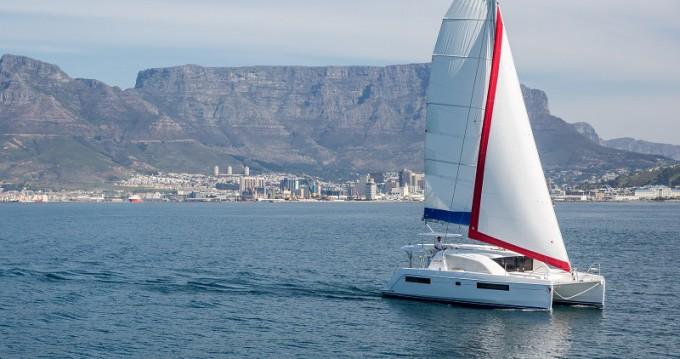 Verhuur Catamaran in Road Town - Leopard Sunsail 404