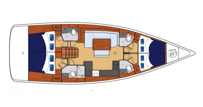 Huur Zeilboot met of zonder schipper Bénéteau in Saint George