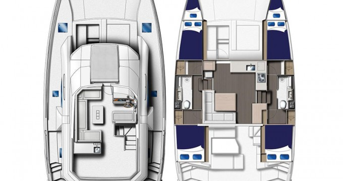 Jachthuur in Marina - Leopard Moorings 434 PC via SamBoat