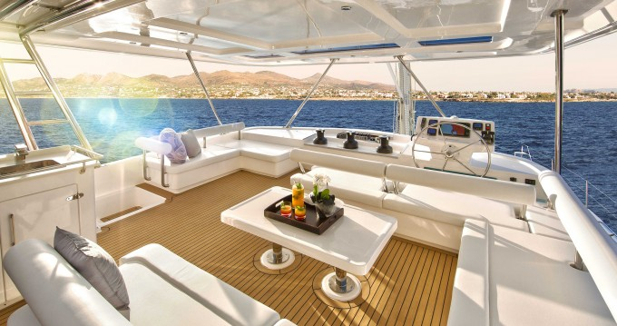 Verhuur Catamaran in Marina - Leopard Moorings 5800