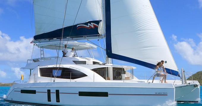 Verhuur Catamaran in Raiatea - Leopard Moorings 5800