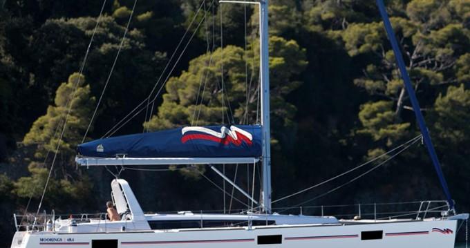 Bénéteau Moorings 48.4 te huur van particulier of professional in Marina