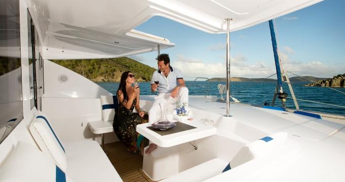 Huur Catamaran met of zonder schipper Leopard in Raiatea