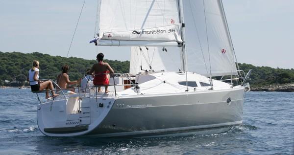 Verhuur Zeilboot in Biograd na Moru - Elan Impression 344