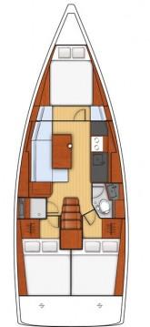 Jachthuur in Biograd na Moru - Bénéteau Oceanis 38.1 via SamBoat