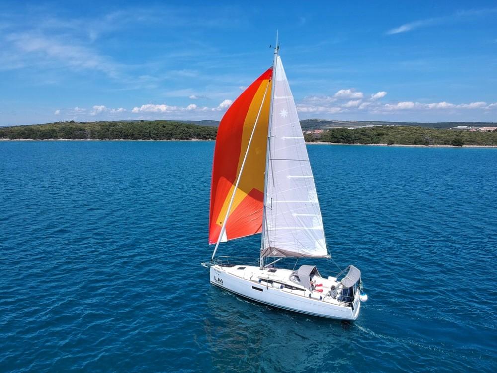 Huur een Jeanneau Sun Odyssey 349 in Kroatië