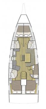 Verhuur Zeilboot in Kos - Bénéteau Oceanis 46.1