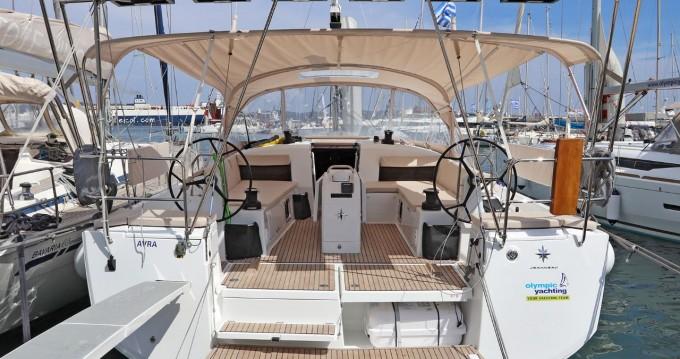 Verhuur Zeilboot in Lávrio - Jeanneau Sun Odyssey 490