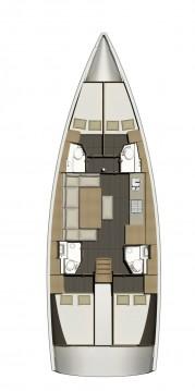 Bootverhuur Šibenik goedkoop Dufour 460 Grand Large