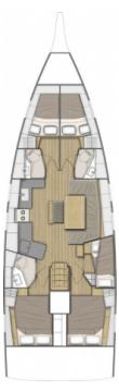 Verhuur Zeilboot in Šibenik - Bénéteau Oceanis 46.1