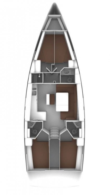 Verhuur Zeilboot in Primošten - Bavaria Cruiser 46