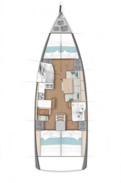 Bootverhuur Jeanneau Sun Odyssey 440 in Fethiye via SamBoat