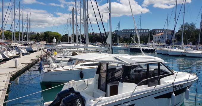 Verhuur Motorboot in Pula - Jeanneau Merry Fisher 895