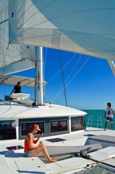 Verhuur Catamaran in Torre del Greco - Lagoon Lagoon 450