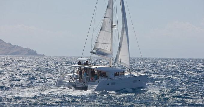 Huur Catamaran met of zonder schipper Lagoon in Mykonos (Island)