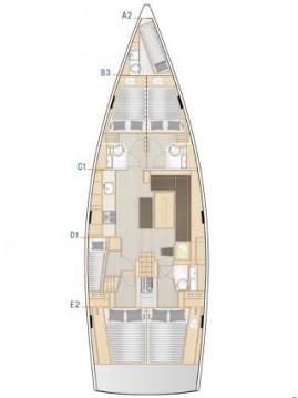 Jachthuur in Biograd na Moru - Hanse Hanse 508 via SamBoat