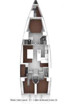 Jachthuur in Split - Bavaria Cruiser 56 via SamBoat